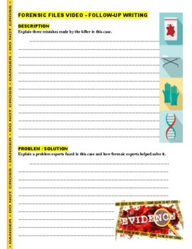 Forensic Files : Grounds for Indictment (video worksheet) - Forensic Geology