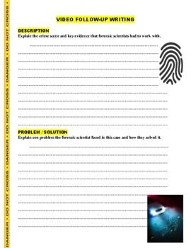 Forensic Files : Hand Delivered (video worksheet)