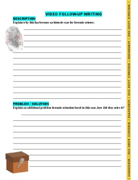 Forensic Files Historic Cases V3 - (2 Video Worksheets)