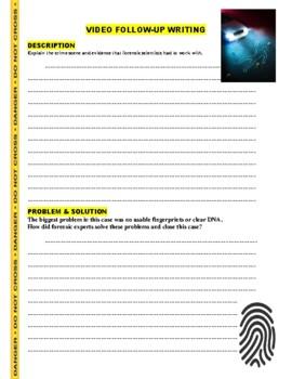 Forensic Files : Hundreds of Reasons (video worksheet)