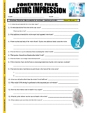 Forensic Files : Lasting Impression (video worksheet) - Odontology / Entomology