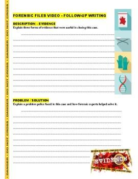 Forensic Files : Low Maintenance (Video Worksheet) - DNA