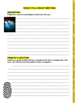 Forensic Files : Muddy Waters (video worksheet)