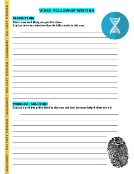Forensic Files : Northern Exposure (video worksheet)