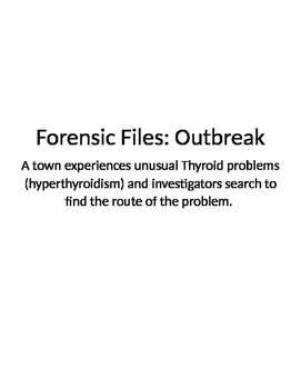 Forensic Files, Outbreak
