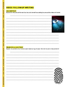 Forensic Files : Palm Saturday (video worksheet)