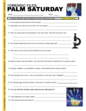 Forensic Files : Palm Saturday (science video worksheet)