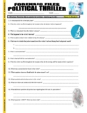Forensic Files : Political Thriller (video worksheet) - Toxicology