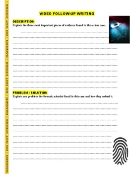 Forensic Files : Punch Line (video worksheet)