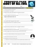 Forensic Files : Root of All Evil (video worksheet / psychology / crime)