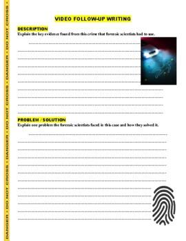 Forensic Files : Shopping Spree (video worksheet)
