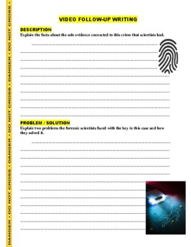 Forensic Files : Skeleton Key (video worksheet)