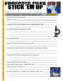 Forensic Files : Stick 'em Up (video worksheet)