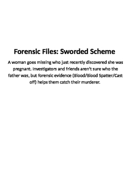 Forensic Files, Sworded Scheme