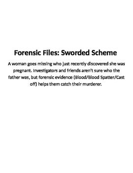 Forensic Files, Sworded Scheme
