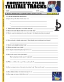 Forensic Files : Telltale Tracks (science video worksheet / distance learning)