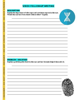 Forensic Files : Tooth or Consequences (video worksheet)