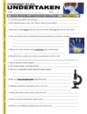 Forensic Files : Undertaken (video worksheet)
