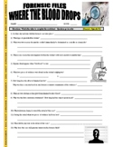 Forensic Files : Where the Blood Drops (video worksheet)