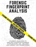 Forensic Fingerprint Analysis - PDF VERSION