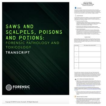 Forensic Pathology + Toxicology: Lesson Plan, Presentation + Activities!