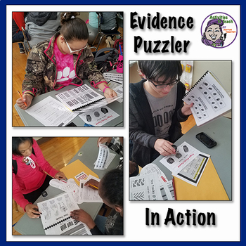 Forensic Science 101 - Evidence Puzzler for CSI Agents