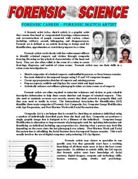 Forensic Science 101 - Sketch Artist / Composite Artist (Career Article)