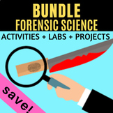 Forensic Science BUNDLE - Projects, Labs, Activities