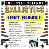 Forensic Science Ballistics Unit Bundle
