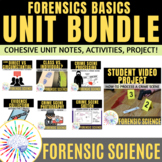 Forensic Science Basics Unit BUNDLE Distance Learning