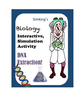 Forensic Science Biology DNA Extraction INTERACTIVE Simulation Virtual Lab!