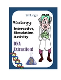 DNA Extraction Online INTERACTIVE Simulation Virtual Activity Lab!