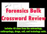 Forensic Science Bulk Crossword Review 1