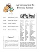 Forensic Science Complete Unit