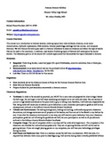 Forensic Science Course Syllabus