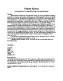 Forensic Science Crime Scene Chemistry