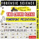 Forensic Science Crime Scene PowerPoint Presentation
