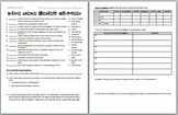 Forensic Science: Crime Scene Review Worksheet and Answer Key