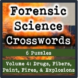 Forensic Science Crosswords Volume 4-Drugs, Fibers, Paint, Fires, and Explosions