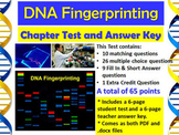 Forensic Science: DNA Fingerprinting Chapter Test