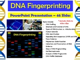 Forensic Science – DNA Fingerprinting PowerPoint Presentation