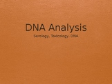 Forensic Science DNA Powerpoint