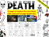 Forensic Science – Death & Forensic Anthropology Lecture Notes Handout and Key
