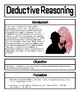 Forensic Science: Deductive Reasoning
