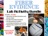 Forensic Science – Fiber Evidence Analysis Lab Activity Bundle