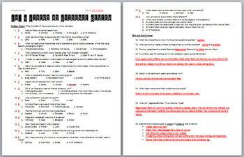 Forensic Science: Fiber Evidence Practice Test Review Worksheet