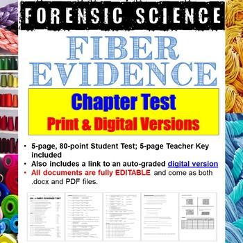 Forensic Science: Fiber Evidence Test