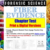 Forensic Science: Fiber Evidence Test