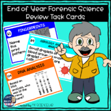 Forensic Science Final Exam Review Task Cards