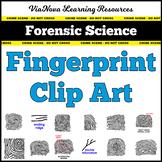 Forensic Science Fingerprint Clip Art